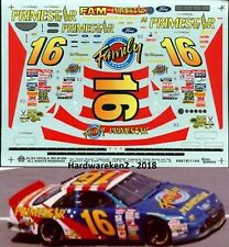 NASCAR DECAL #16 FAMILY CHANNEL PRIMESTAR 1996 FORD THUNDERBIRD TED MUSGRAVE
