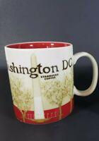 Starbucks 2012 WASHINGTON DC Global City Icon Collector Series 16oz Mug Cup