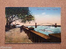 R&L Postcard: Der Rhein, Bonn, Alter Zoll, Germany, Brigde, Steam Boat
