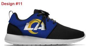 LOS ANGELES RAMS LA Unisex Lightweight Shoes Sneakers Footbal w. NEW TEAM LOGO
