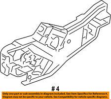 FORD OEM 11-16 Fiesta Lock -Rear Door-Handle Base Right DE8Z5426684D