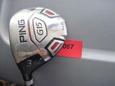 LH Ping G15 15.5° # 3 Fairway TFC149F Stiff Graphite Golf Club # L1067