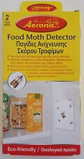 Food Moth Detector Aerona Non-Toxic & Odourless Glue Trap - 1 Pack of 2 Traps