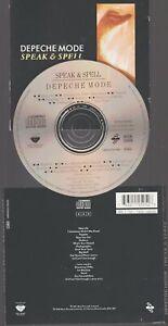 Depeche Mode Speak & Spell Cd Mute Vogue France 1988 AAD BM 720