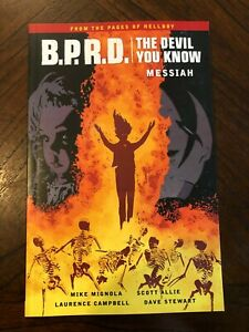 BPRD The Devil you Know Messiah softcover AUTOGRAPHED by Mike Mignola