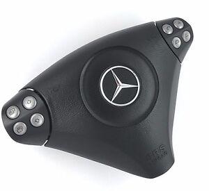 Mercedes Benz C Class SLK CLC AMG W203 R171 drivers steering wheel SRS bag    6C