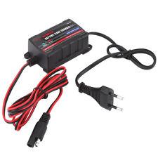 Caricabatterie Mantenitore Batteria di Carica Automatico per Moto Auto EU plug