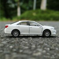 Toyota Camry Model Cars Toys 1:36 Collection Open two doors White Alloy Diecast