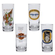 Genuine Harley Davidson beverage glass set 9689417v