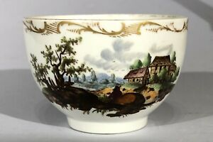Furstenberg 18thC Porcelain Cup German Antique Fürstenberg Szenene tasse For Ref