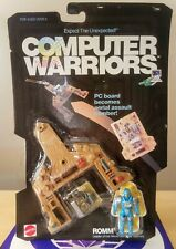 COMPUTER WARRIORS ROMM 1989 MATTEL NEW SEALED EXCELLENT