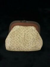 Vintage Albino Snake Skin And Bakelite Coin Purse