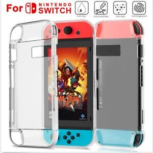 For Nintendo Switch Transparent Clear Hard PC Protection Hard Case Cover Case