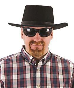 Karaoke King Walter White Ginger Goatee Moustache Tash Fancy Dress