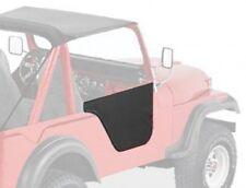 Jeep CJ5 CJ6 Satz Halbtüren Halb Tür Black Crush Bestop 55-81