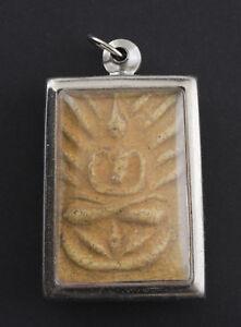 Amulet Thai Buddha Phra Somdej LP Boon Power Wealth Luck 1419