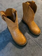 Ladies Ariat Phatbaby Boots Brown Size 7B