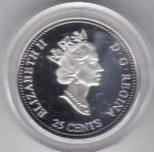 2000 Canada 25 cent Proof Stirling Silver coin Creativity