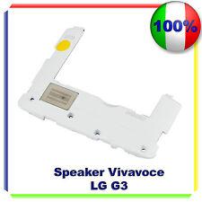 CASSA SUONERIA RINGER LG G3 G850 VIVAVOCE BUZZER ALTOPARLANTE - BIANCO