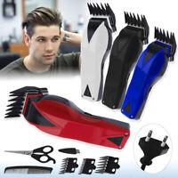 Electric Hair Trimmer Clipper Men Shaver Tool Set Barber Haircut Machine Kit