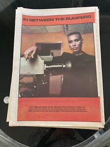 Grace Jones Original Advert 1981