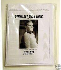 Star Trek The Original Series Mens Shirt Pattern