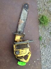 Vintage McCulloch Chainsaw Chain Saw