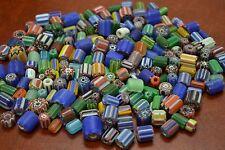 300+ PCS ASSORT CHEVRON GLASS BEADING BEADS 1 POUND #T-2334