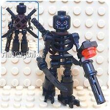 LEGO PUMPKIN KING SANTA MINIFIG skeleton minifigure claus halloween christmas