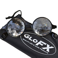 GloFX Crystal Glass Optics - Eyewear 3D trippy rave FX spex laser lazer aurora