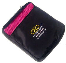 PINK ANTI BACTERIAL MICROFIBRE SPORTS TOWEL Ladies hand travel camping gym