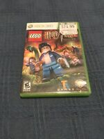 LEGO Harry Potter: Years 5-7 (Microsoft Xbox 360, 2011) Complete Free Shipping