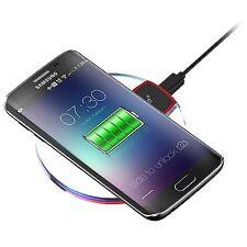 Qi Caricabatterie Alimentatore casa Wireless per Samsung Galaxy S6 EDGE PLUS +