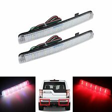 Clear Lens Range Rover Freelander 2 L322 Rear Bumper Reflector LED Brake Light