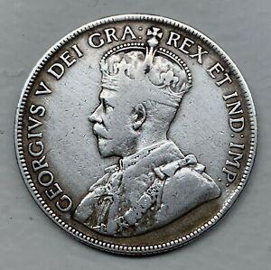 Canada NEWFOUNDLAND 50 Cents 1918 C