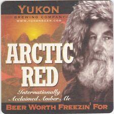Canadian beer coaster YUKON BREWERY