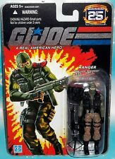 G I GI JOE 25TH ANNIVERSARY RANGER BEACH HEAD BEACHHEAD FIGURE MOC