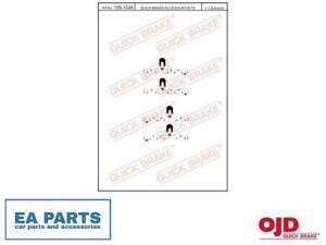 Accessory Kit, disc brake pads for SEAT VW QUICK BRAKE 109-1048