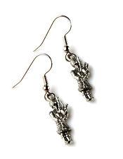 Bagpipe Earrings - Scottish Accessories - Women's Jewelry - Handmade - Gift Box