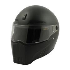 Bandit Alien 2 II Full Face Motorcycle Helmet - Matt Black