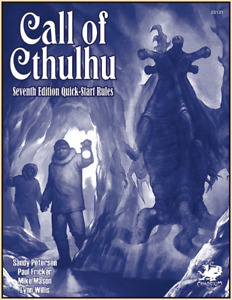 Call of Cthulhu 7th Edition Quickstart Rules - CHA23131