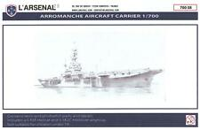 L'Arsenal Models 1/700 ARROMANCHES French Carrier Resin & Photo Etch Model