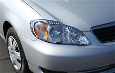 Headlight Bezel Set-Chrome Putco 401246 fits 2005 Toyota Corolla