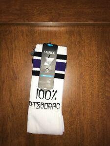 STANCE - Pipe Bomb 656 - 100% Skate Crew Socks  - Large