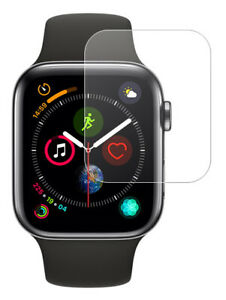 TEMPERED GLASS SCREEN PROTECTOR CRACK SAVER FOR APPLE WATCH (SERIES 4, 44mm)