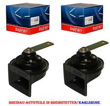 2 x Fanfare Hupe Signalhorn-TOPRAN-NEU-AUDI VW SEAT 191951223 3B0951223 Mercedes