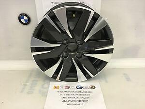 """Peugeot 16"""" alloy wheel 6.5 J 16  Ref 010"""