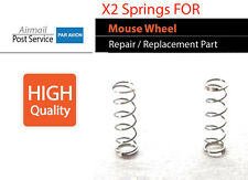 2 mouse wheel scroll spring to Logitech  MX400 MX600 MX610 mouse Laser Cordless