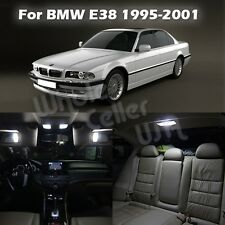 16x Error Free White LED Interior Light Package for BMW 7 Series E38 1995-2001