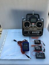 Futaba T6X 50th anniversary transmitter with 3 receivers and charger. Mint cond.